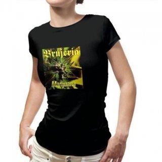 BRUJERIA Marijuana, レディースTシャツ