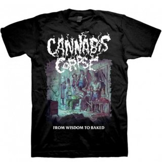 CANNABIS CORPSE From Wisdom to Baked, Tシャツ
