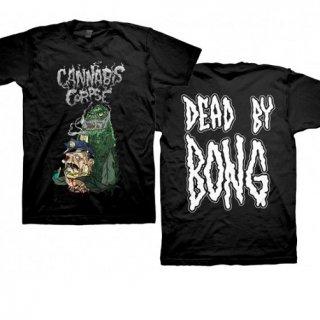 CANNABIS CORPSE Cop Bong Dead by Bong, Tシャツ