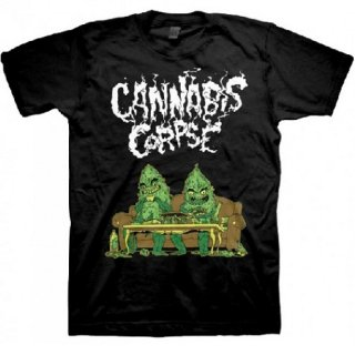 CANNABIS CORPSE Couch Dudes, Tシャツ