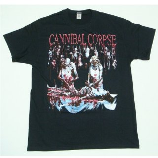 CANNIBAL CORPSE Butched at Birth on Back, Tシャツ