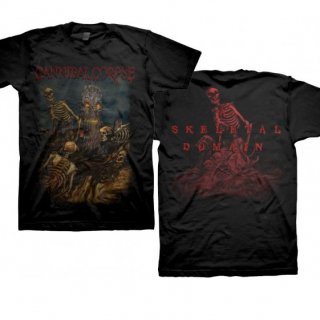 CANNIBAL CORPSE Skeletons Tree - A Skeletal Domain, Tシャツ