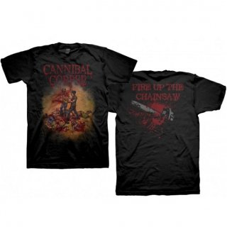 CANNIBAL CORPSE Fire Up the Chainsaw, Tシャツ