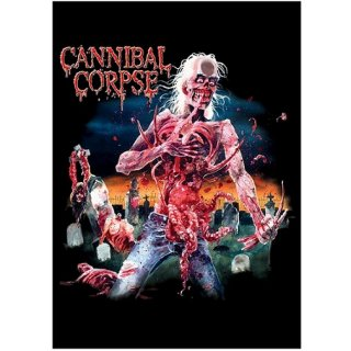CANNIBAL CORPSE Eaten Back to Life, 布製ポスター