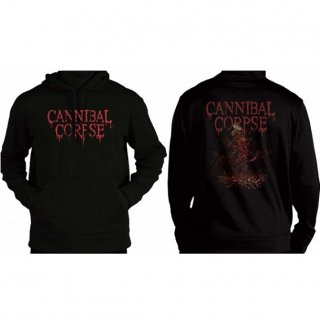 CANNIBAL CORPSE Crown Skeleton, パーカー
