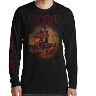 CANNIBAL CORPSE Fire Up The Chainsaw, ロングTシャツ
