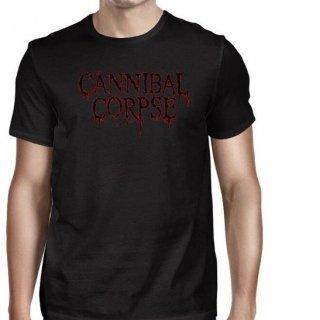 CANNIBAL CORPSE Logo Summer Tour 2016, Tシャツ