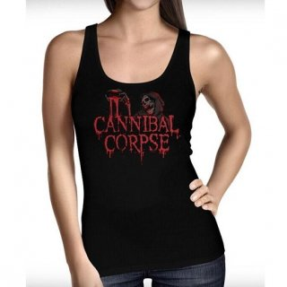 CANNIBAL CORPSE Blood & Ghoul, タンクトップ(レディース)