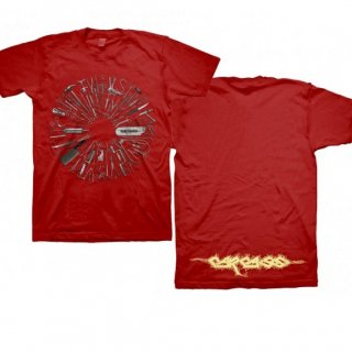 CARCASS Surgical Remission Red, Tシャツ