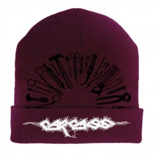 CARCASS Tools Embroidered Logo/Imperial purple, ニットキャップ