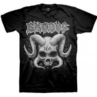 EXODUS Horned Skull, Tシャツ