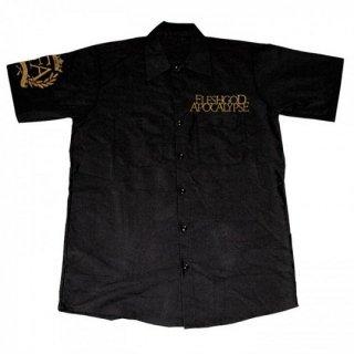 FLESHGOD APOCALYPSE Logo Crest, ワークシャツ