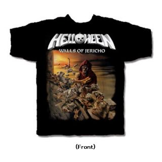 HELLOWEEN Walls of Jericho, Tシャツ