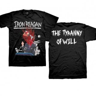 IRON REAGAN Tyranny Album Cover, Tシャツ