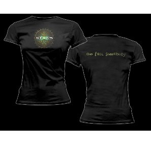 KINGS X Sun-Go Tell Somebody on Back, レディースTシャツ