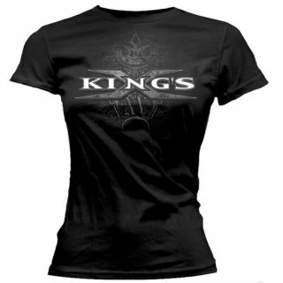 KINGS X First Church Logo, レディースTシャツ
