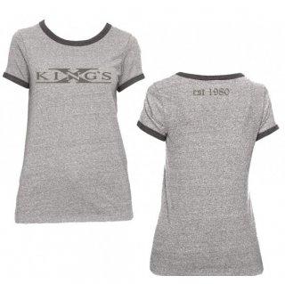 KINGS X Logo Est 1980, レディースTシャツ