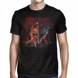 KREATOR Helmet Warrior 2017 Tour, Tシャツ