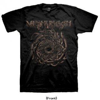 MESHUGGAH Spiral of Snakes, Tシャツ