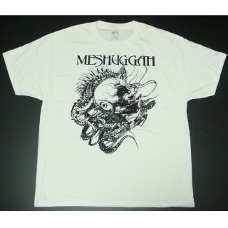 MESHUGGAH Spine Head Wht, Tシャツ