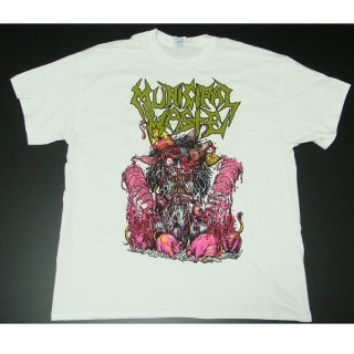 MUNICIPAL WASTE Green Logo Rats, Tシャツ