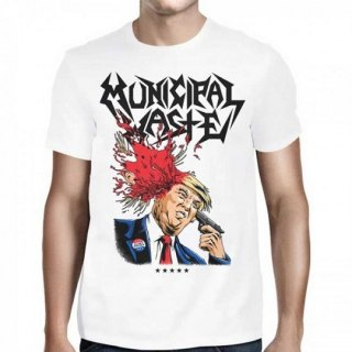MUNICIPAL WASTE Trump Walls of Death, Tシャツ