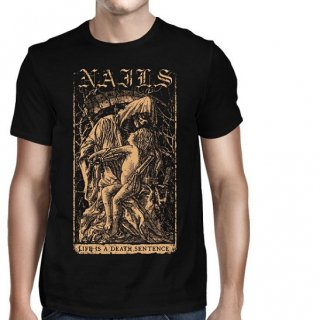 NAILS Life Is A Death Sentence, Tシャツ