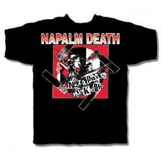 NAPALM DEATH Nazi Punks Fuck Off 2, Tシャツ