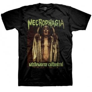 NECROPHAGIA White Worm Cathedral, Tシャツ