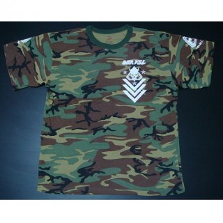 OVERKILL White Devil Spec Ops Camo 2, Tシャツ