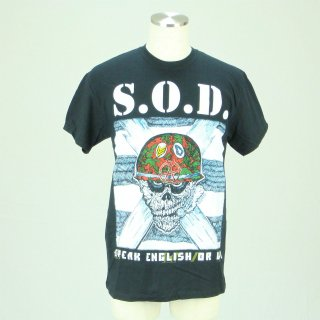 S.O.D. Speak English Or Die, Tシャツ