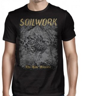 SOILWORK Ride Majestic 2016 Date Back, Tシャツ