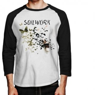 SOILWORK Natural Born Chaos, ラグラン七分袖シャツ