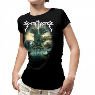SONATA ARCTICA The Ninth Hour, レディースTシャツ