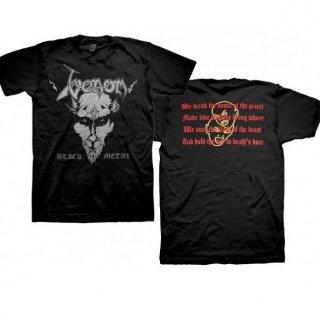 VENOM Black Metal, Tシャツ