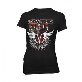 BLACK VEIL BRIDES Stand Up To The Pain, レディースTシャツ