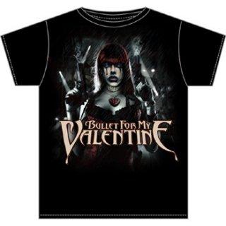 BULLET FOR MY VALENTINE Gun Woman, Tシャツ