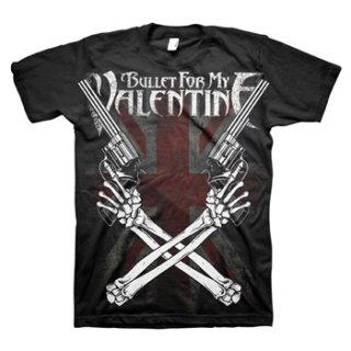 BULLET FOR MY VALENTINE Cross Guns, Tシャツ