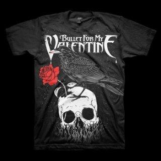 BULLET FOR MY VALENTINE Raven, Tシャツ