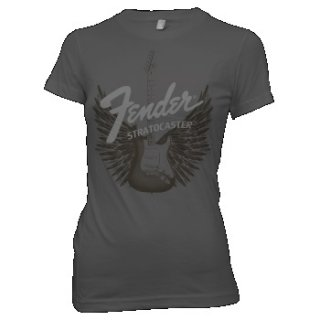 FENDER Strat Wings, レディースTシャツ