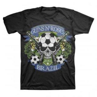 GUNS N' ROSES Gnr Brazil Cup, Tシャツ