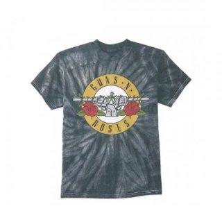 GUNS N' ROSES Simple Bullet Spider TIEDYE, Tシャツ