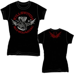 KILLSWITCH ENGAGE Cobra Kai, レディースTシャツ