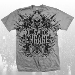 KILLSWITCH ENGAGE Medieval Crest, Tシャツ