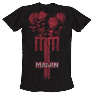 MARILYN MANSON Skull Cross, Tシャツ