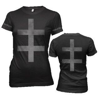 MARILYN MANSON Smokey Cross, レディースTシャツ