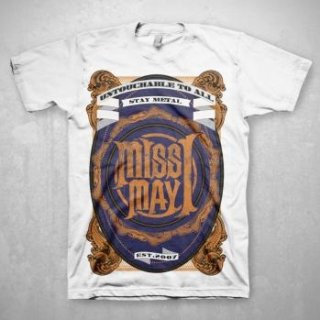 MISS MAY I Metal Crest, Tシャツ