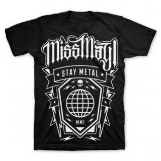 MISS MAY I Globe, Tシャツ