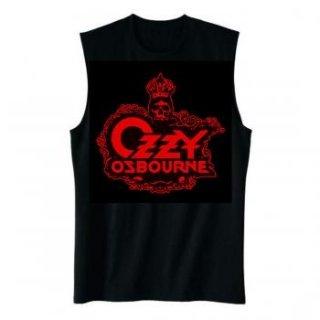 OZZY OSBOURNE Skull Logo, ノースリーブTシャツ(メンズ)