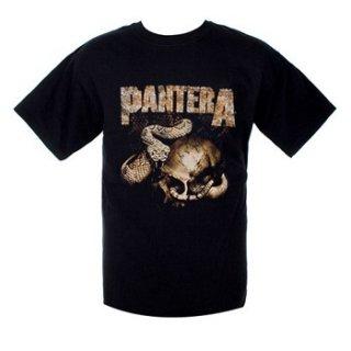 PANTERA Rattler Skull, Tシャツ